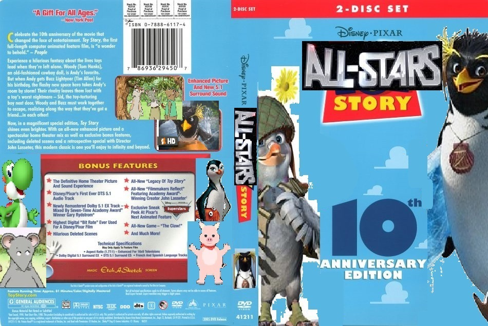 All-Stars Story 1 (DVD Cover)