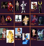 MLPCVTFB's Unofficial Disney Villains (Part 2)