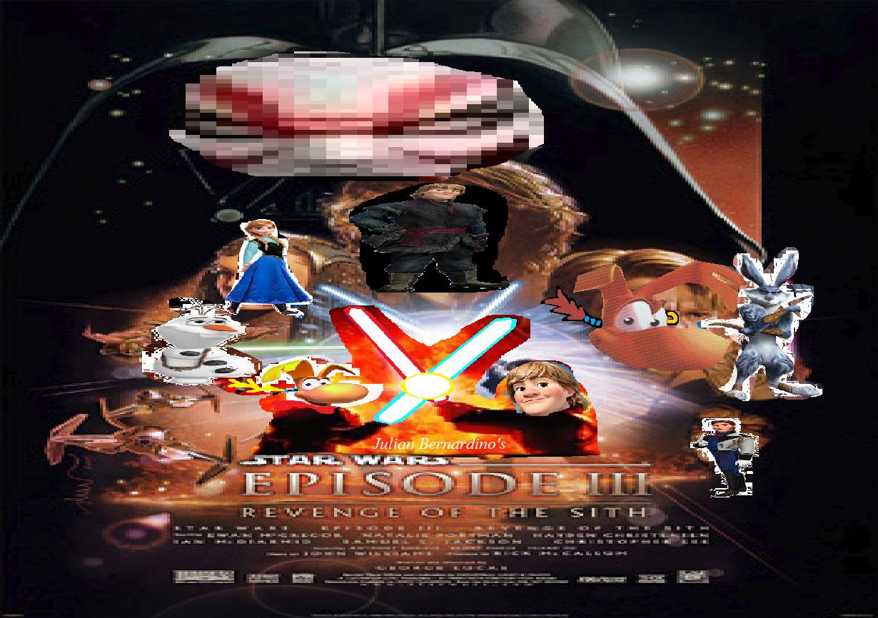 Star Wars Episode 3 - Revenge of the Sith (Julian14bernardino style)