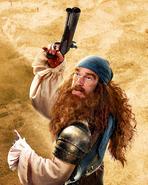 MR BURGER BEARD SPONGEBOB MOVIE 2015