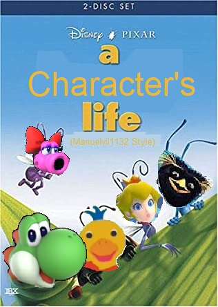 A Character's Life (Manuelvil1132 Style) (DVD)