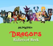 Dragons Riders of Berk (TV Series Poster)
