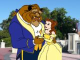 Belle and Beast Goes to Walt Disney World pictures