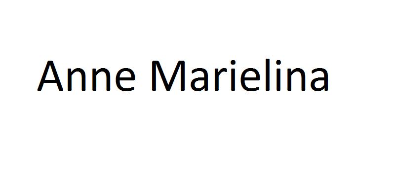 Anne Marielina