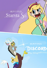 Starstasia and Discord the Magnificent (1997-1999) double feature poster