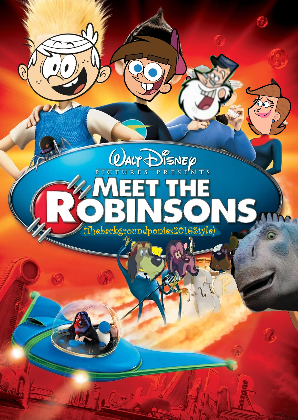 Meet the Robinsons (Thebackgroundponies2016Style)