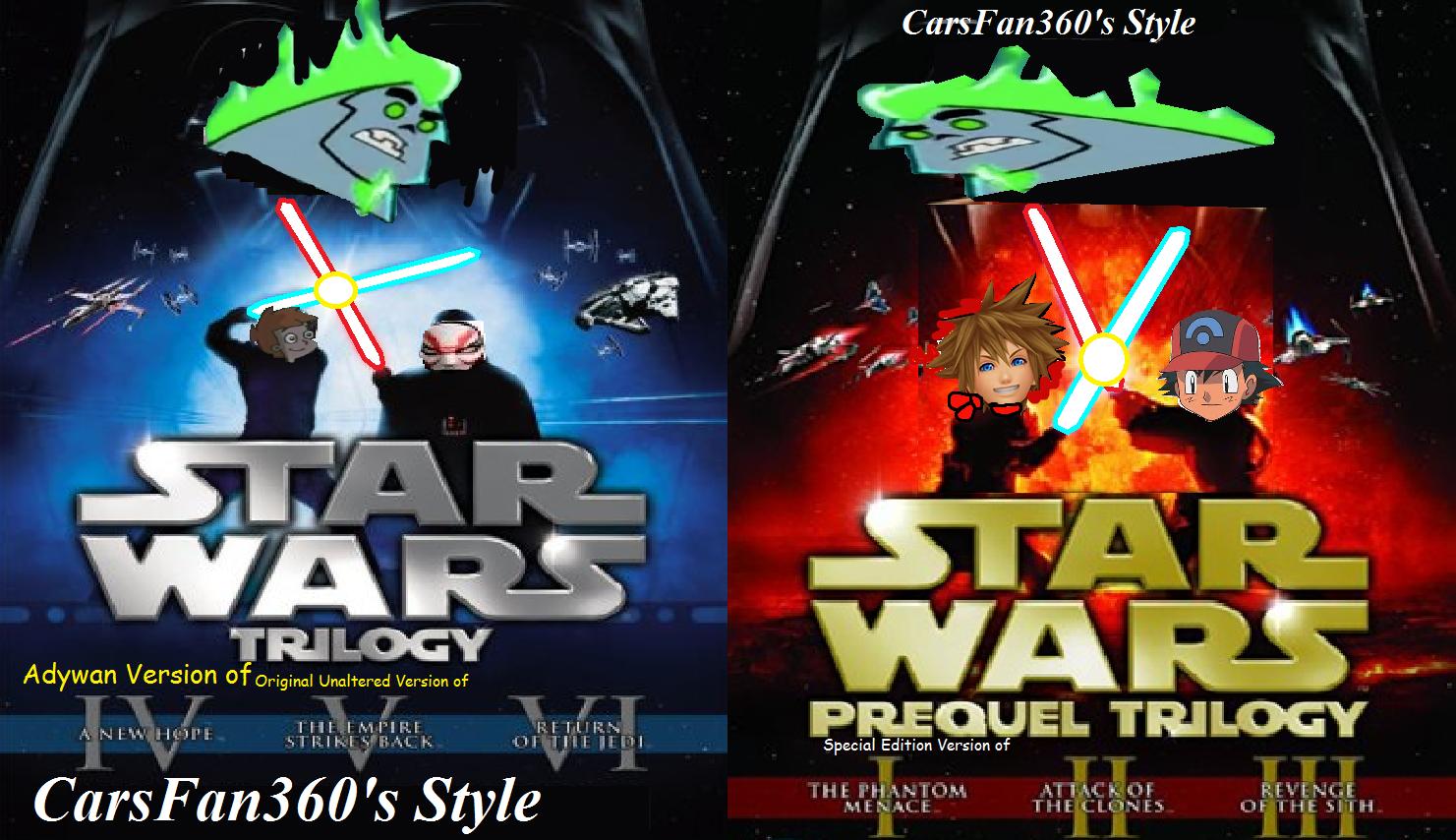 Star Wars (CarsFan360's Style)