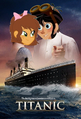 Titanic (1997; Thebackgroundponies2016Style's Version) Poster