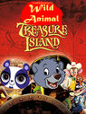 Wild Animal Treasure Island Poster