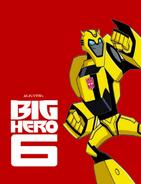 Big Hero 6 (MLPCVTFB's Version) Poster