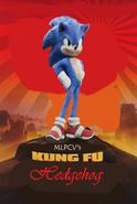 Kung Fu Hedgehog Poster