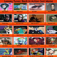 Looney Tunes Back in Action (MLPCVTFB Style) Recast Meme