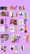 MLPCVTFB's Unofficial Non-Disney Princesses (Part 2)