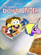The Rescuers Down Under (MLPCV Style)