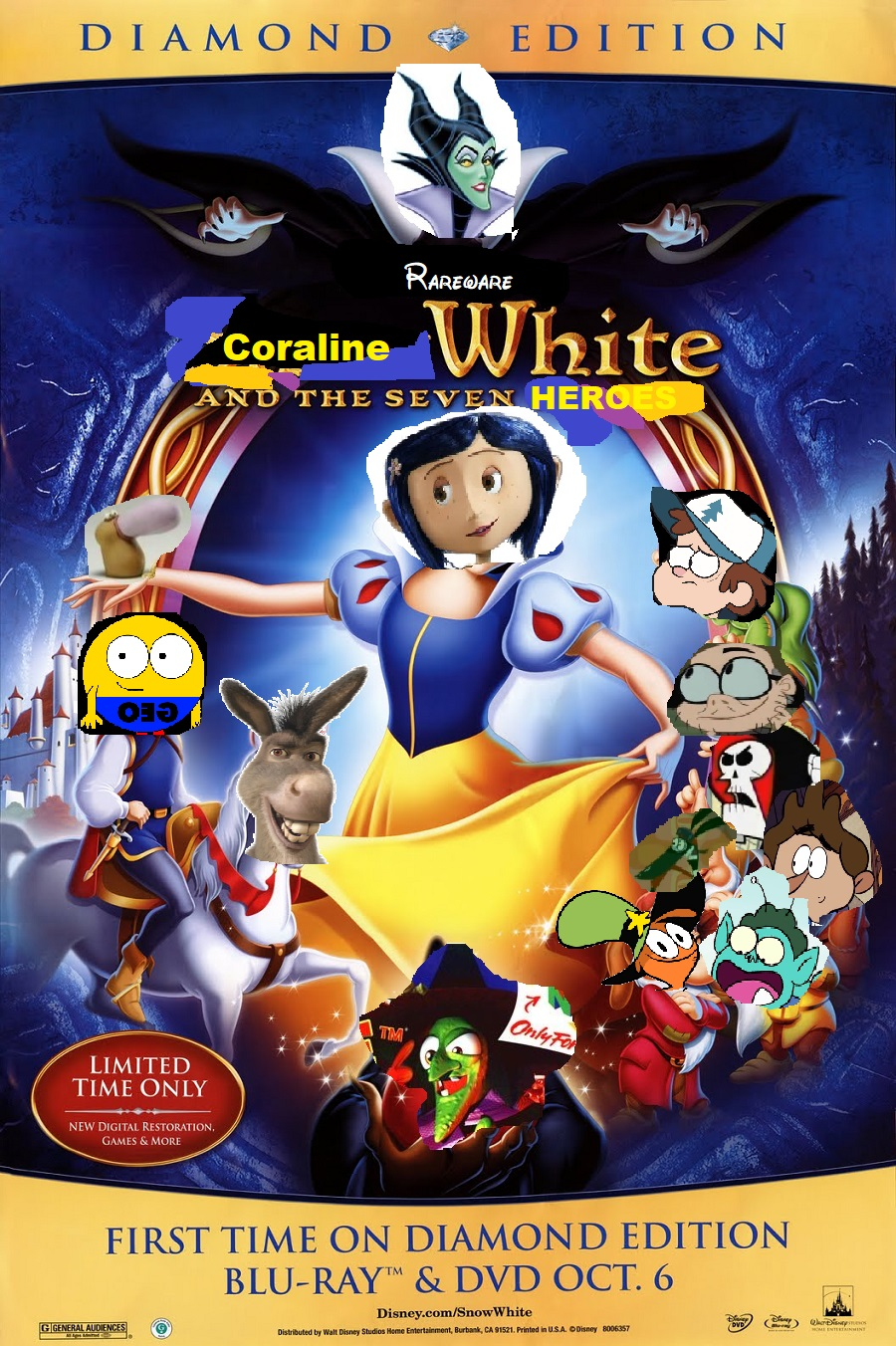 Coraline White and the Seven Heroes