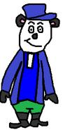 Mr Archibald Panda (swimsuit)