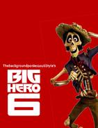 Big Hero 6 (Thebackgroundponies2016style)