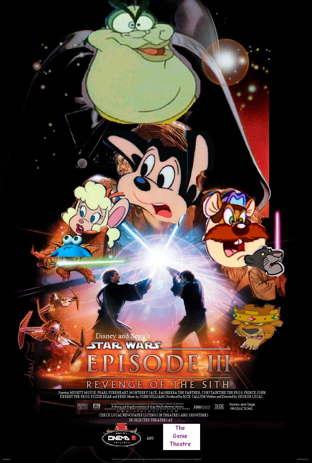 Star Wars Episode 3: Revenge of the Sith (Disney and Sega Style)