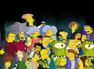 The Simpsons Villains
