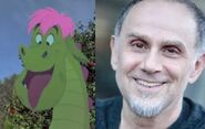 John Kassir To Voices Elliot The Dragon