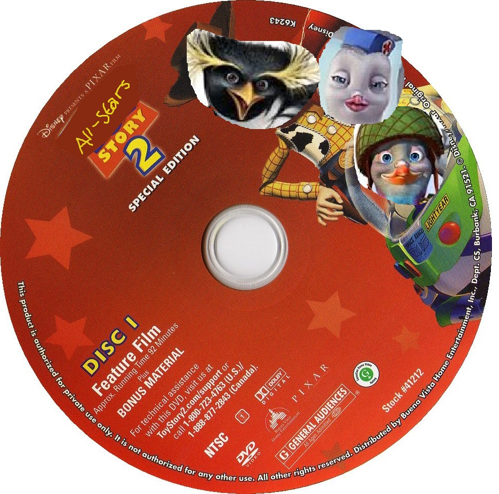 All-Stars Story 2 (DVD Disc) (Disc 1)