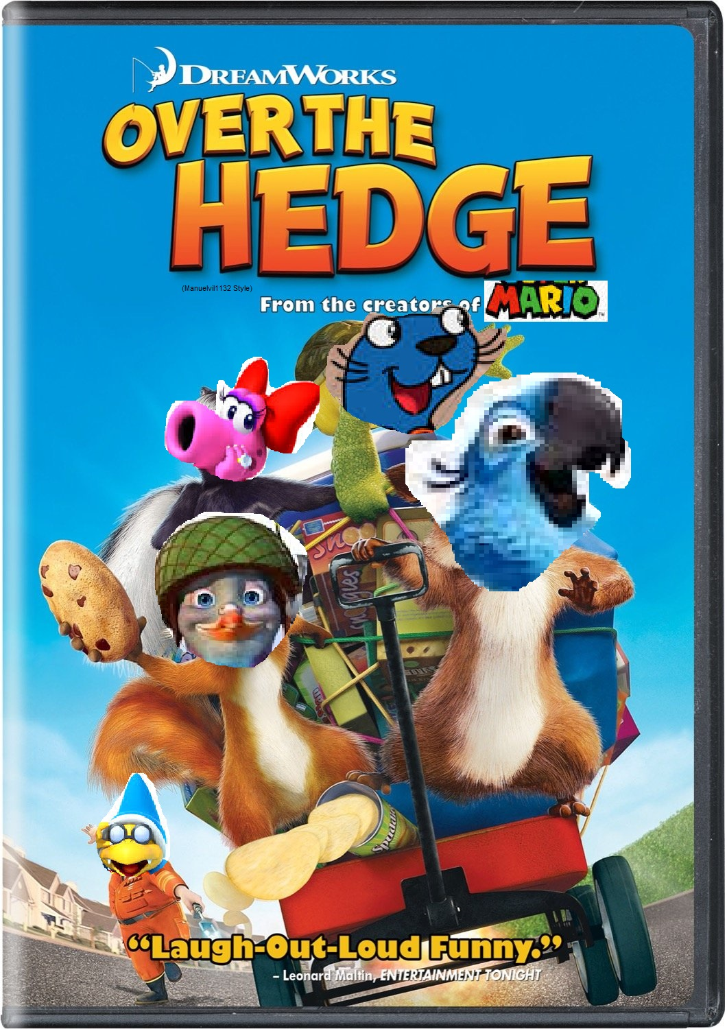 Over The Hedge (Manuelvil1132 Style)