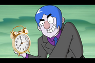Grim Gloom with a Clock by Thebackgroundponies2016Style