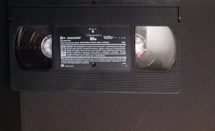 A Character's Life (Manuelvil1132 Style) (VHS Tape)