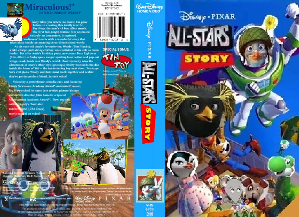 All-Stars Story 1 (VHS Cover)