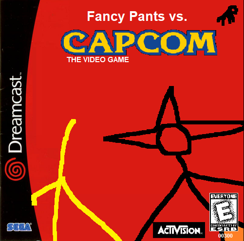 Fancy Pants vs. Capcom/Gallery