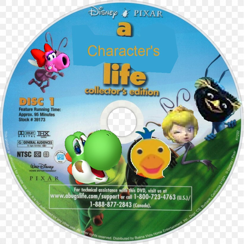 A Character's Life (Manuelvil1132 Style) (DVD Disc) (Disc 1)