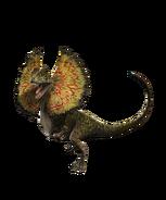Delophosaurus from Jurassic Park