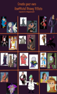 MLPCVTFB's Unnofficial Disney Villains (Part 1)