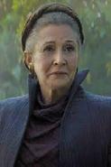 Profile - Old Princess Leia