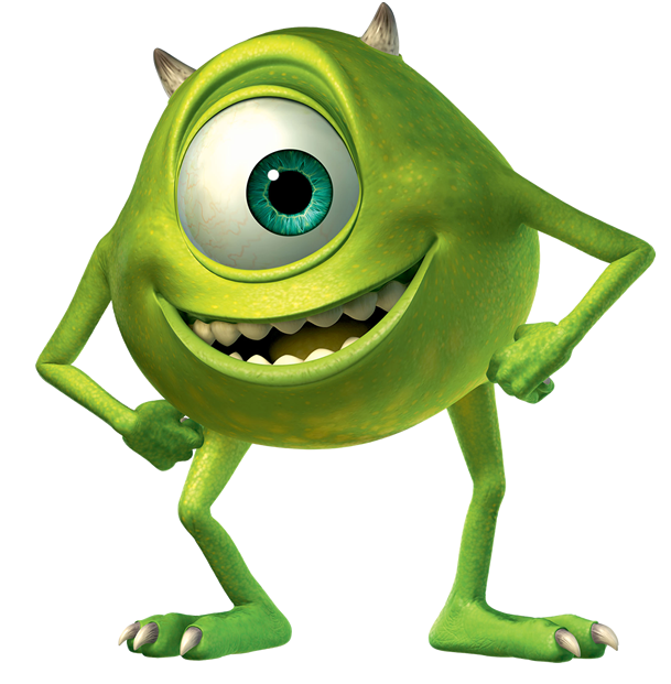 Mike Wazowski (Monsters Inc)