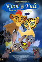 Kion and Fuli Roared with a Kiss Poster