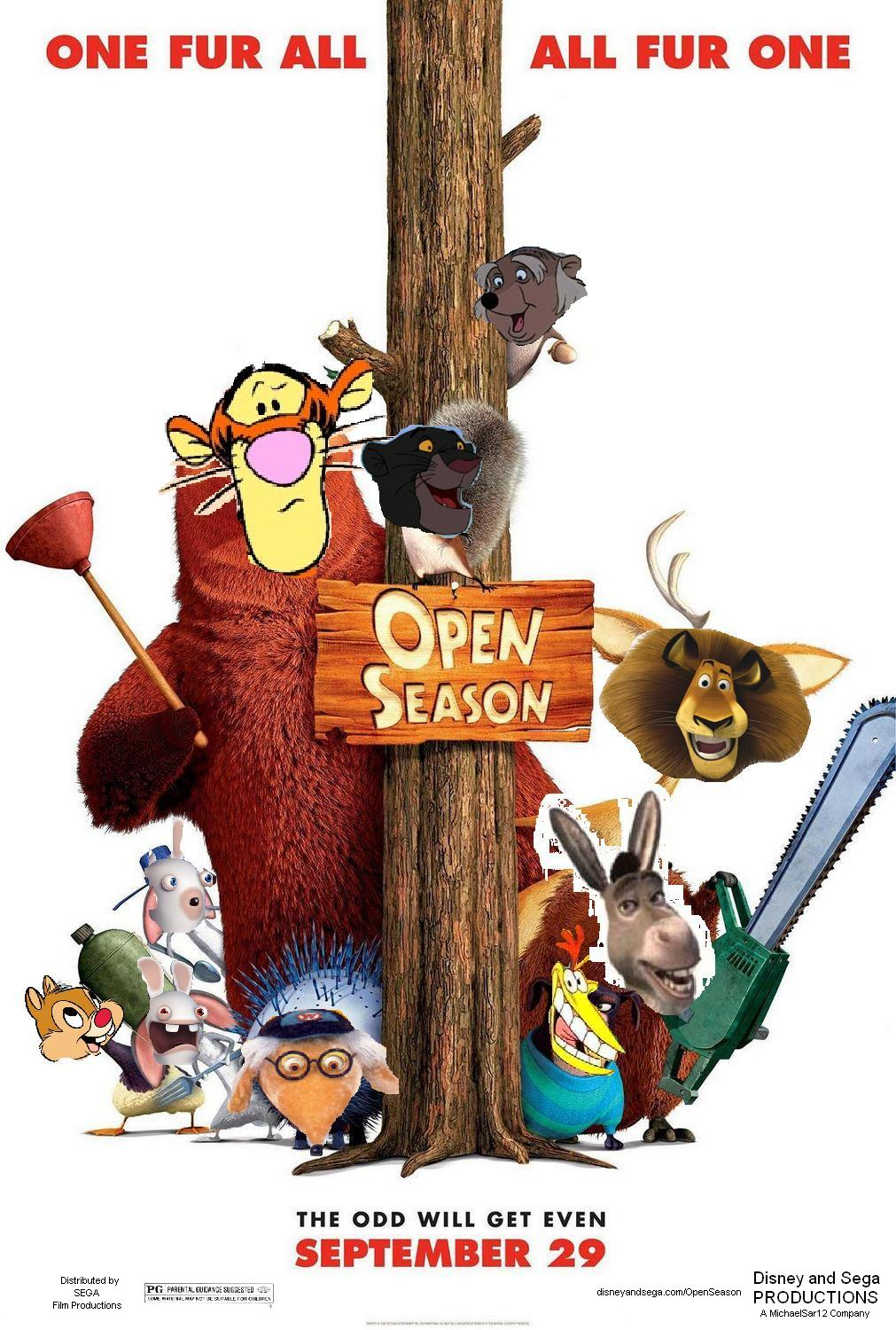 Open Season (Disney and Sega Style)