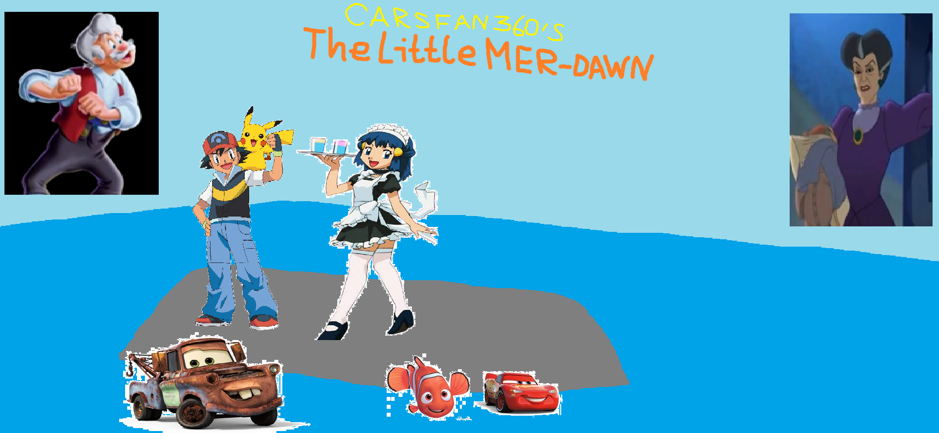 The Little Mer-Dawn (CarsFan360's Style)