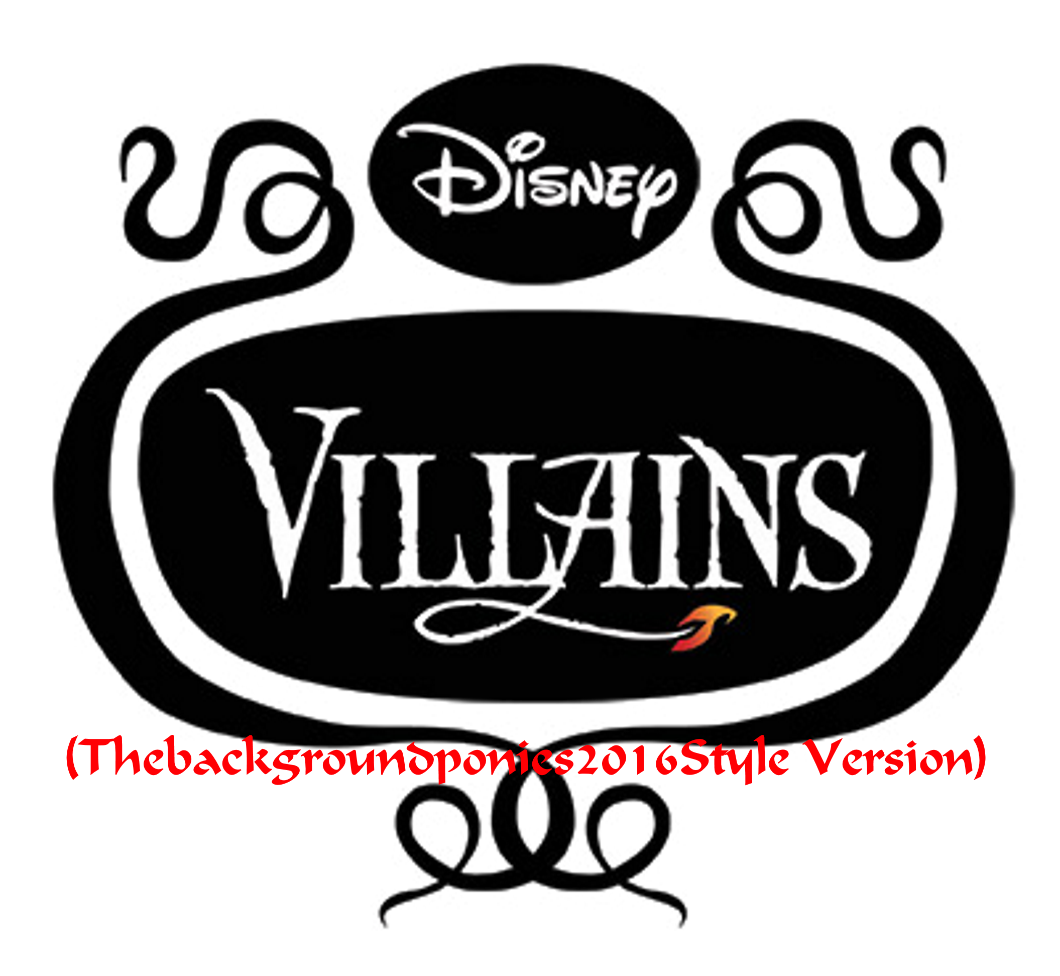 Disney Villains (Thebackgroundponies2016Style Version)