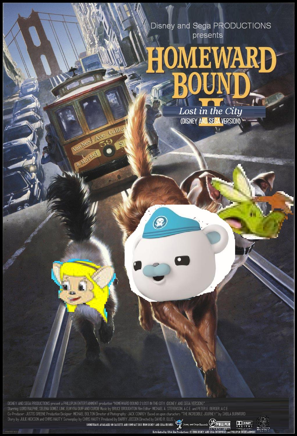 Homeward Bound 2 Lost in the City (Disney and Sega Version)