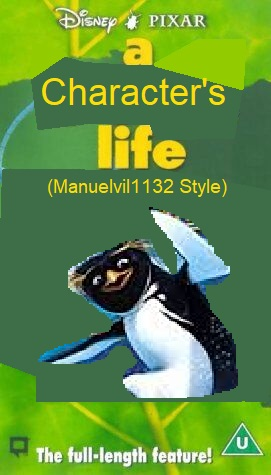 A Character's Life (Manuelvil1132 Style) (VHS) (UK)