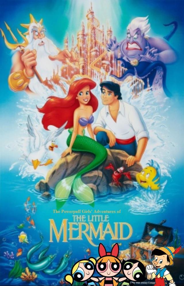 The Powerpuff Girls' Adventures of The Little Mermaid