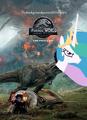 Ponies World Fallen Kingdom Poster