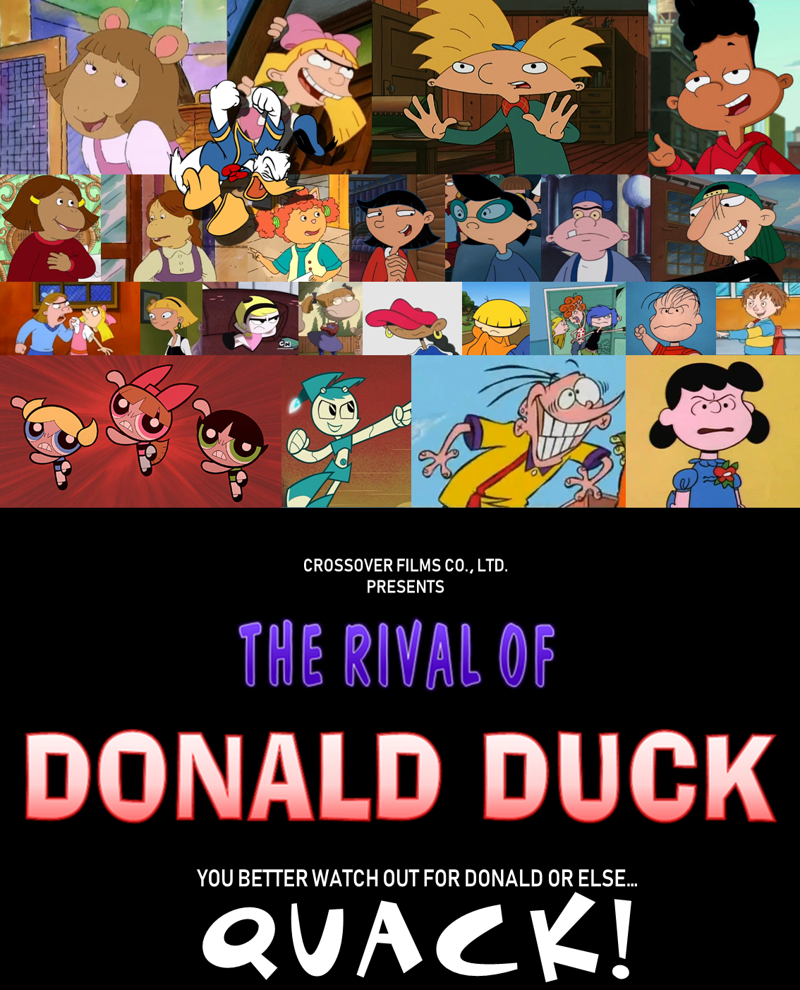 The Rival of Donald Duck