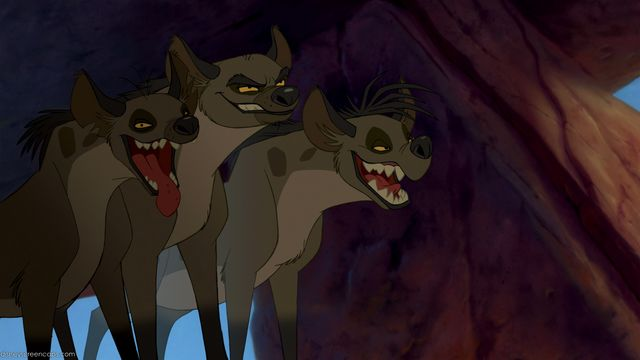 Shenzi, Banzai and Ed (The Lion King)