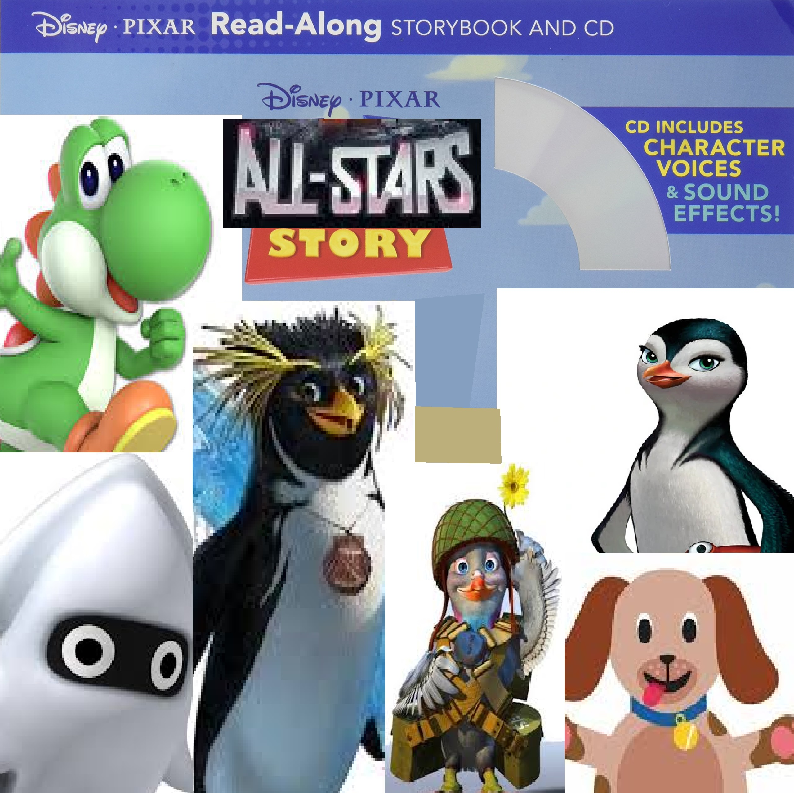 All-Stars Story 1 Read-Along Storybook and CD