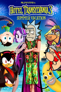 Hotel Transylvania 3- A Summer Vacation (MLPCVTFB's Version) Poster