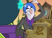 Grim Playing Piano
