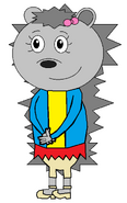 Marigold Porcupinn (winter suit)