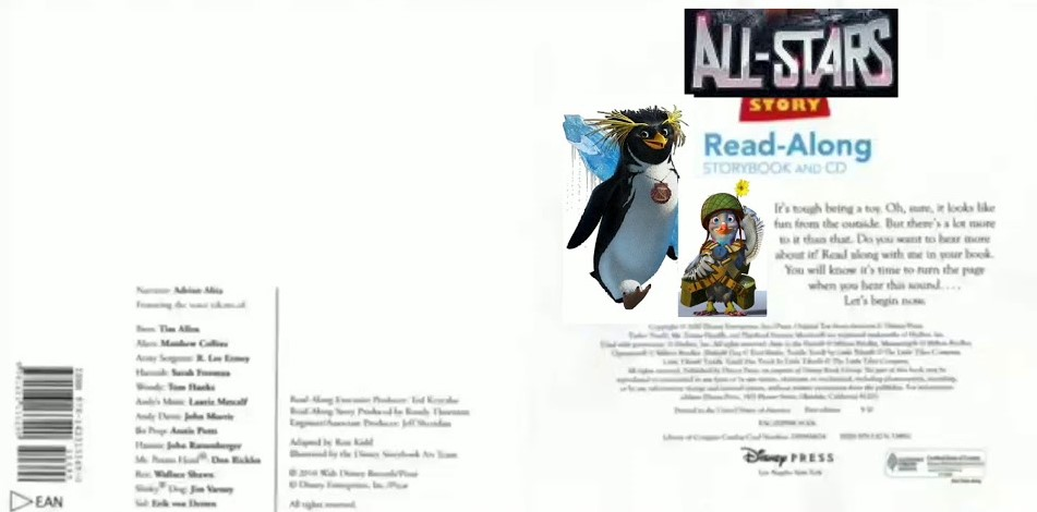 All-Stars Story 1 Read-Along Storybook and CD/Gallery